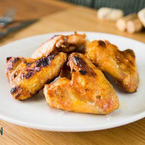 Aletes de pollastre a la brasa